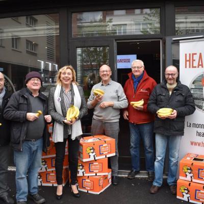 Dunkerque 30 Novembre 2018 - Lancement Hearter - avec les bananes RSE made in France